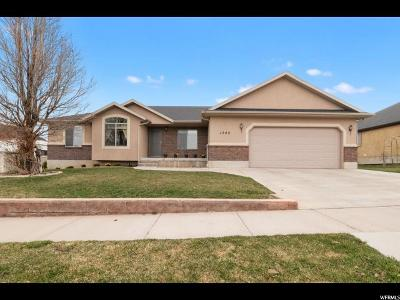 Santaquin Single Family Home For Sale: 1382 Sageberry Dr
