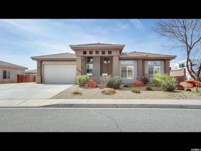 St. George Single Family Home For Sale: 2504 E 50 S