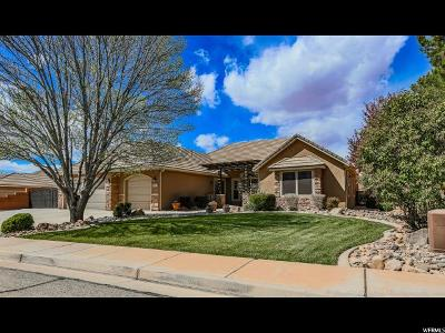 St. George Single Family Home For Sale: 2229 E Rustic Dr