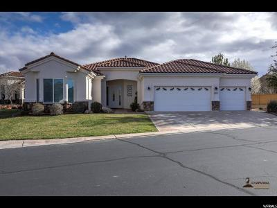 St. George Single Family Home For Sale: 1872 W Sunstar Dr