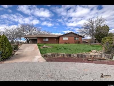 St. George Single Family Home For Sale: 2774 Tobin Cir