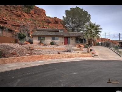 St. George Single Family Home For Sale: 828 W 1300 Cir N