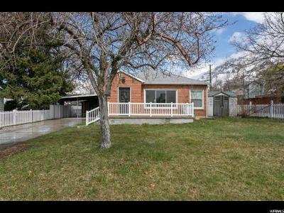 Provo Single Family Home For Sale: 1233 E 900 S