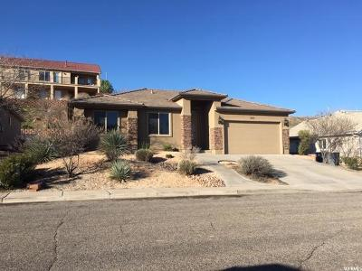 St. George Single Family Home For Sale: 785 W Lava Pointe Dr Dr