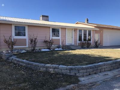 Castle Dale UT Single Family Home Under Contract: $153,700