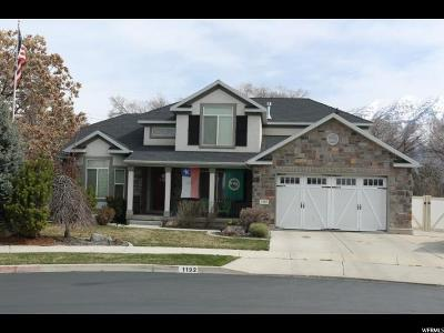 Provo Single Family Home For Sale: 1192 W 1870 N