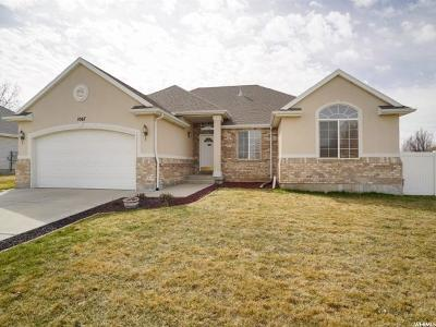 Clinton Single Family Home Under Contract: 1067 W 1075 N