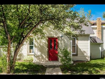 Park City Single Family Home For Sale: 1439 Woodside Ave