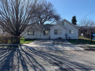 Payson Single Family Home Under Contract: 158 S 500 W