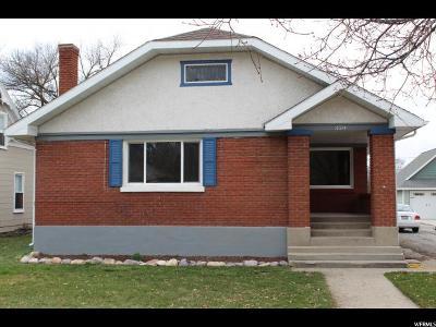 Logan UT Single Family Home For Sale: $274,900