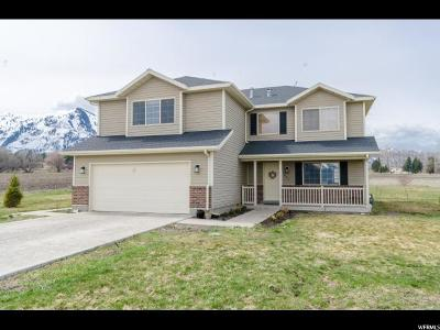 Mendon Single Family Home Under Contract: 857 N 100 W