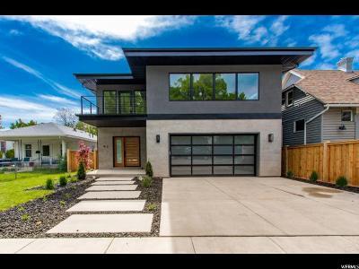 Salt Lake City Single Family Home For Sale: 912 S 1000 E