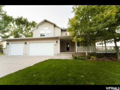 Wellsville Single Family Home For Sale: 5355 W 3400 S