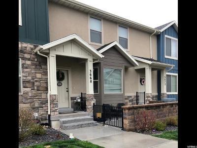 Eagle Mountain Single Family Home For Sale: 3668 E Quartz Creek Ln #18