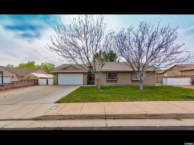 St. George Single Family Home For Sale: 1945 N 2320 W