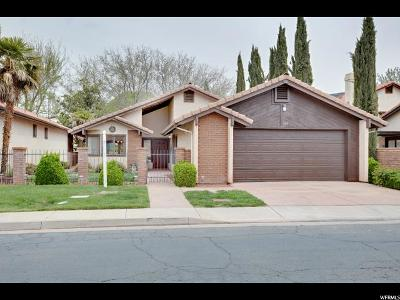 St. George Single Family Home For Sale: 545 S Valley View Dr #144