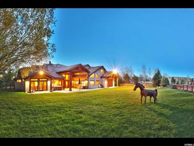 Park City Single Family Home For Sale: 2440 Holiday Ranch Loop
