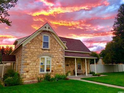 Preston Single Family Home For Sale: 110 S 100 E