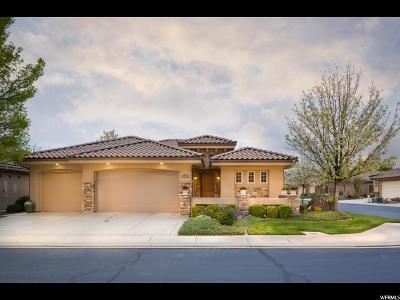 St. George Single Family Home For Sale: 145 S Crystal Lakes Dr #111