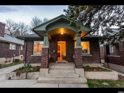 Salt Lake City Single Family Home For Sale: 1362 E 1700 S