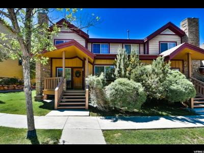Park City Townhouse For Sale: 5477 N Bobsled Blvd