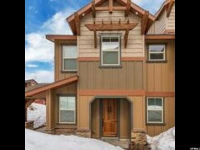 Wasatch County Townhouse For Sale: 779 W Holliday Dr
