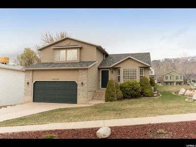 Ogden Single Family Home Under Contract: 1050 E 4525 S