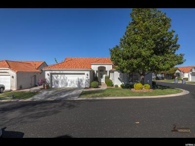 St. George Single Family Home For Sale: 39 N Valley View Dr #102
