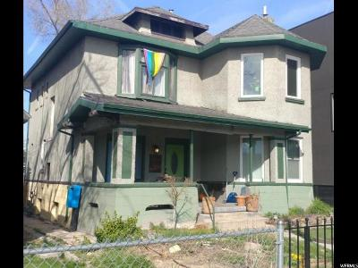 Salt Lake City Multi Family Home For Sale: 840 S West Temple Dr