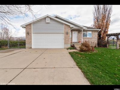 Kaysville Single Family Home For Sale: 1043 Via La Costa Way
