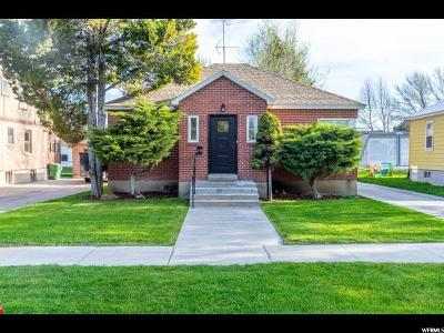 Logan Single Family Home Under Contract: 545 W 400 N