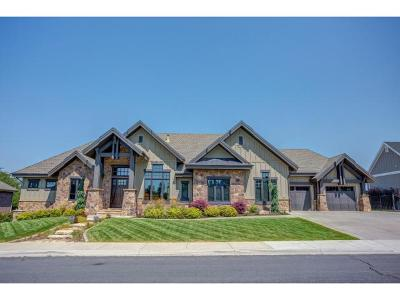 Fruit Heights Single Family Home For Sale: 901 E Fence Post Rd