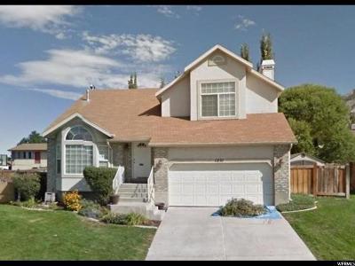 Pleasant Grove Single Family Home For Sale: 1231 E 900 S