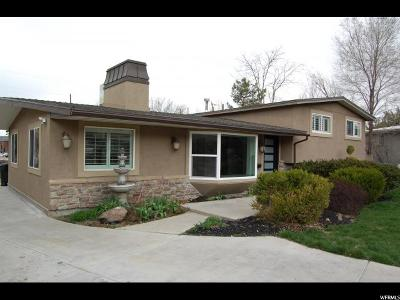 Holladay Single Family Home For Sale: 6354 S Howey E
