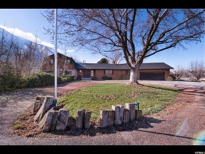 Mapleton Single Family Home For Sale: 750 E 1600 S