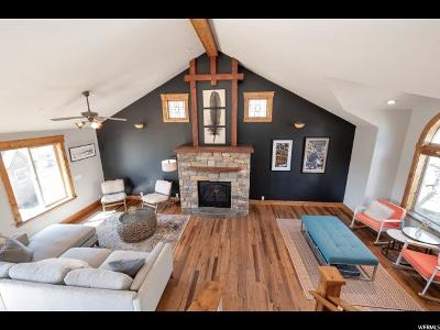 Park City Single Family Home Under Contract: 4173 Sunrise Dr #46