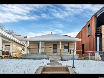 Salt Lake City Single Family Home For Sale: 837 S McClelland St E