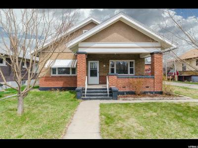 Logan Single Family Home For Sale: 315 W 100 S