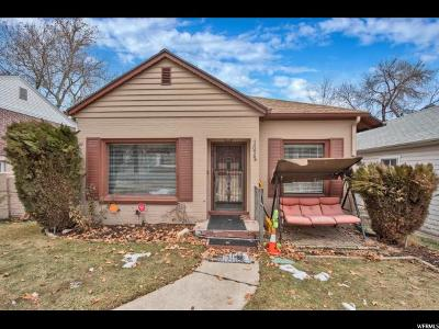 Salt Lake City Single Family Home For Sale: 1072 E 4th Ave N