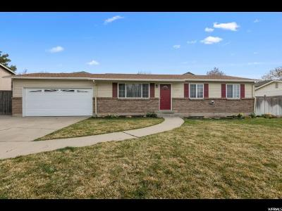 Orem Single Family Home For Sale: 1099 W 105 N