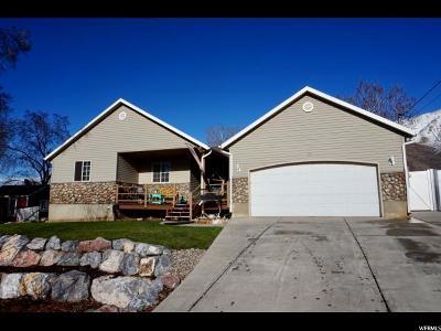 Santaquin Single Family Home For Sale: 233 S 300 E