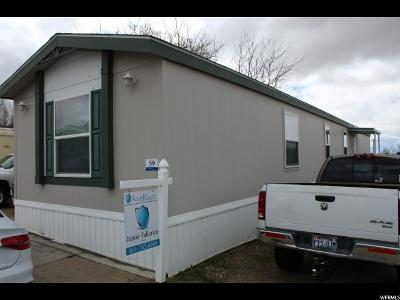 Clearfield Single Family Home For Sale: 1231 W 400 N #59