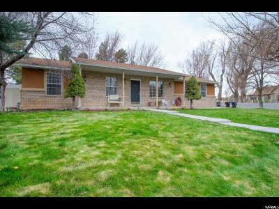 Springville Single Family Home For Sale: 1204 E Hobblecreek Dr