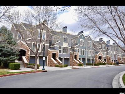 Provo Townhouse For Sale: 5027 Riverpark Way