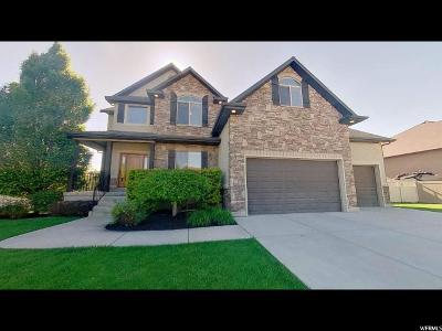 Layton Single Family Home Under Contract: 287 N Sierra Way W