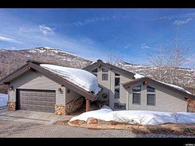 Park City Single Family Home For Sale: 7712 N Tall Oaks Dr