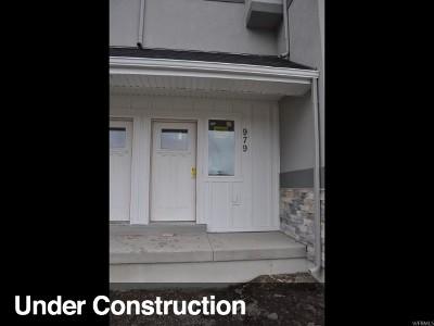 Provo Townhouse Under Contract: 979 E 1060 S #3