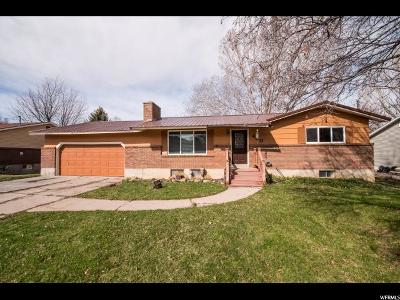 Young Ward Single Family Home For Sale: 400 S 600 E