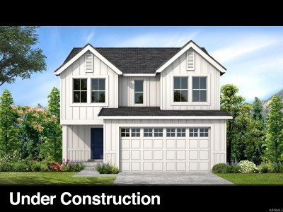 Herriman Single Family Home Under Contract: 14822 S Messi St #447