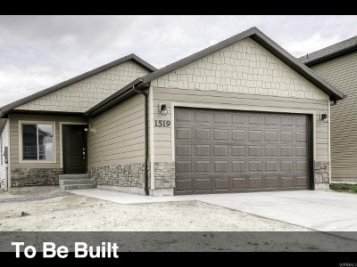 Eagle Mountain Single Family Home For Sale: 3613 N Delta St #121